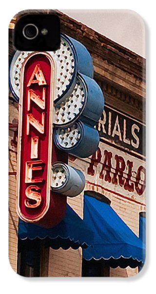 Annies U Of M IPhone 4 Case by Susan Stone
