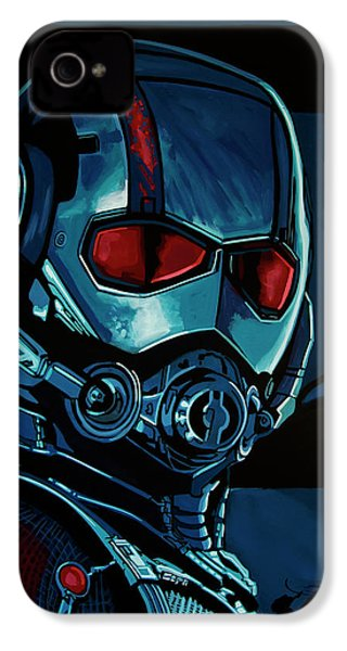 Ant Man Painting IPhone 4 Case by Paul Meijering