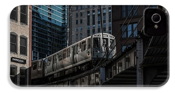 Around The Corner, Chicago IPhone 4 Case by Reinier Snijders