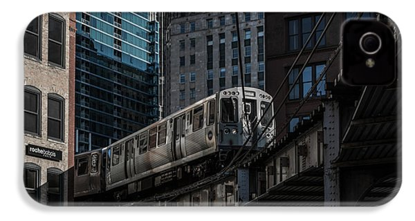Around The Corner, Chicago IPhone 4 / 4s Case by Reinier Snijders
