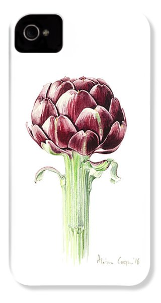Artichoke From Roman Market IPhone 4 / 4s Case by Alison Cooper