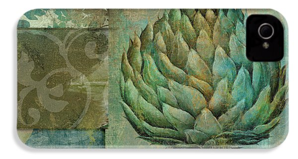 Artichoke Margaux IPhone 4 / 4s Case by Mindy Sommers