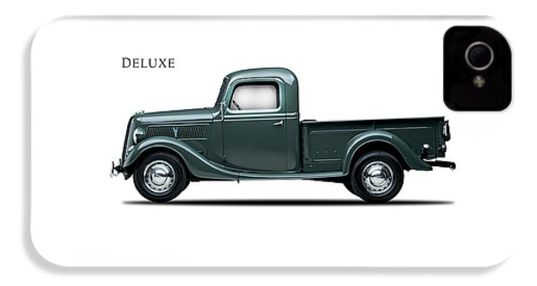Ford Deluxe Pickup 1937 IPhone 4 Case by Mark Rogan