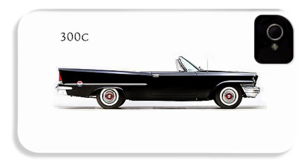 Chrysler 300c 1957 IPhone 4 Case by Mark Rogan
