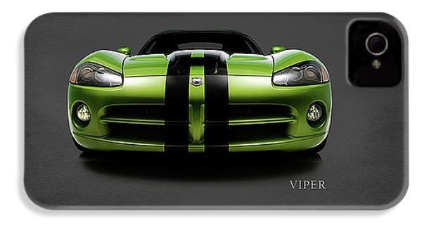 Dodge Viper IPhone 4 Case by Mark Rogan