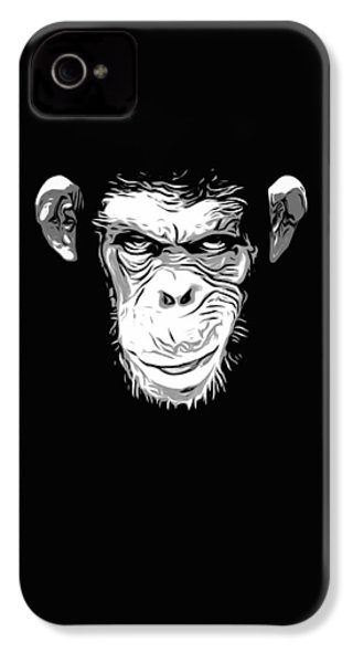 Evil Monkey IPhone 4 / 4s Case by Nicklas Gustafsson