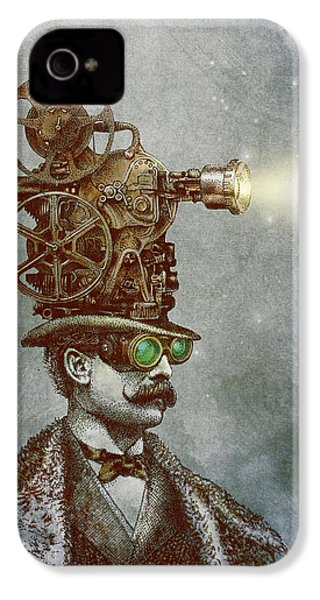 The Projectionist IPhone 4 Case by Eric Fan