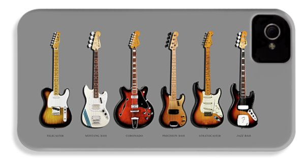 Fender Guitar Collection IPhone 4 / 4s Case by Mark Rogan