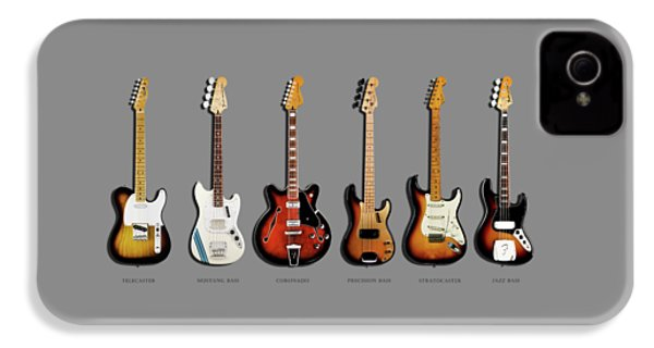 Fender Guitar Collection IPhone 4 Case by Mark Rogan