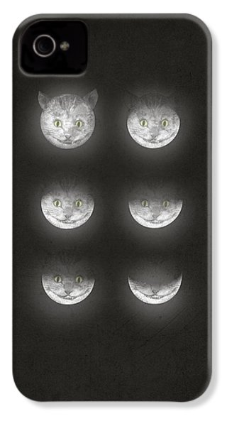 Waning Cheshire IPhone 4 / 4s Case by Eric Fan