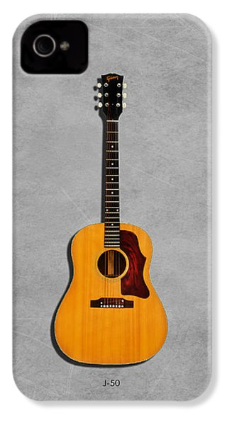 Gibson J-50 1967 IPhone 4 Case by Mark Rogan