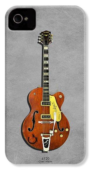 Gretsch 6120 1956 IPhone 4 Case by Mark Rogan