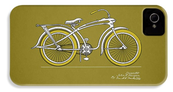 Bicycle 1937 IPhone 4 Case by Mark Rogan