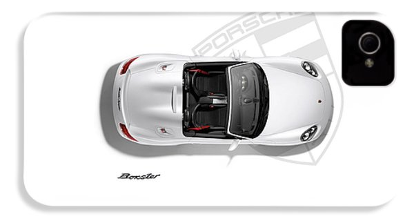 Porsche Boxster IPhone 4 Case by Mark Rogan