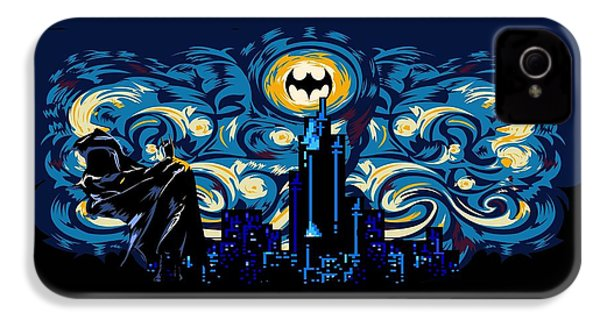 Starry Knight IPhone 4 Case by Three Second