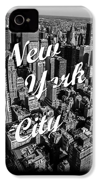New York City IPhone 4 Case by Nicklas Gustafsson