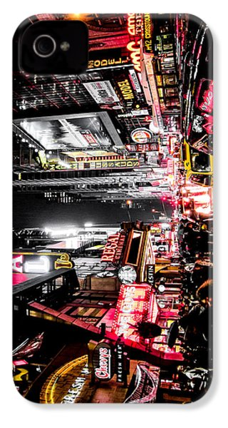 New York City Night II IPhone 4 Case by Nicklas Gustafsson
