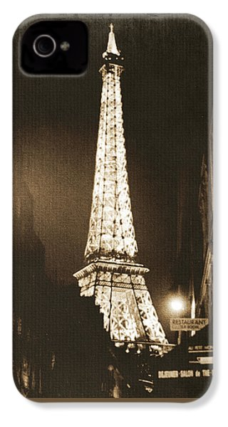 Postcard From Paris- Art By Linda Woods IPhone 4 Case
