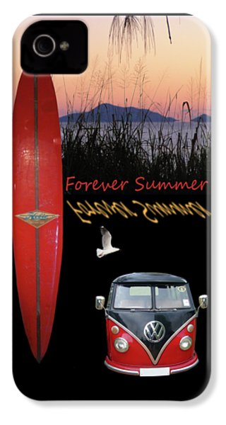 Forever Summer 1 IPhone 4 Case