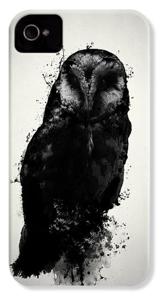 The Owl IPhone 4 Case by Nicklas Gustafsson
