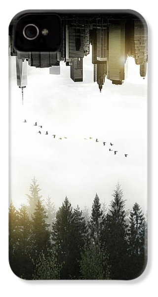 Duality IPhone 4 Case by Nicklas Gustafsson