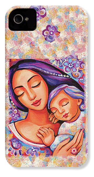 Dreaming Together IPhone 4 Case by Eva Campbell