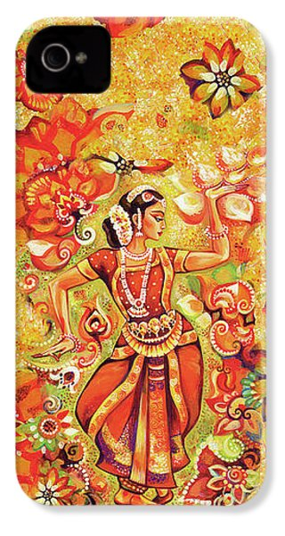 Ganges Flower IPhone 4 Case by Eva Campbell