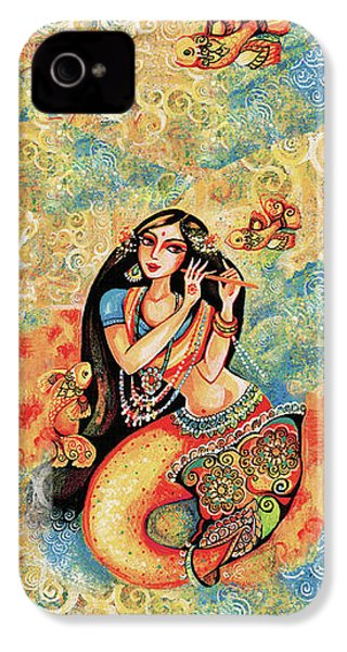 Aanandinii And The Fishes IPhone 4 Case by Eva Campbell
