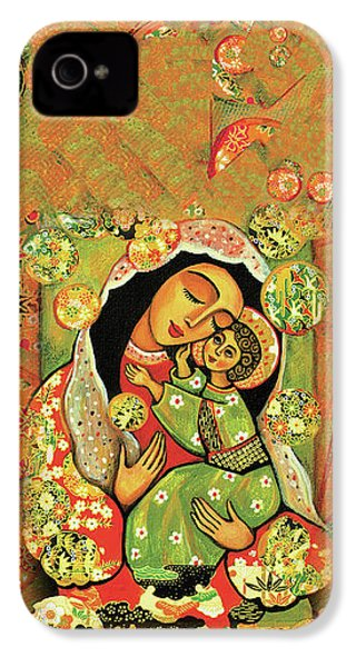 Madonna And Child IPhone 4 Case by Eva Campbell