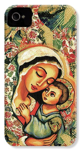 The Blessed Mother IPhone 4 Case by Eva Campbell