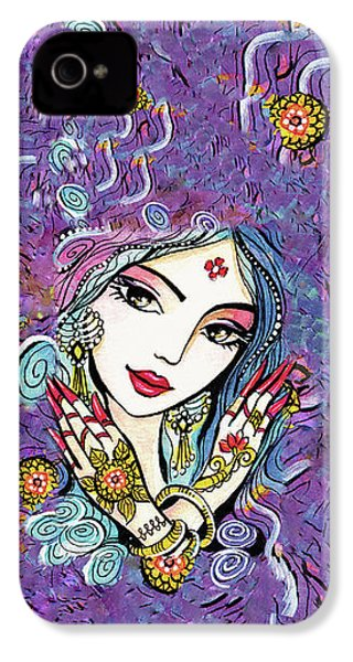 Hands Of India IPhone 4 Case by Eva Campbell