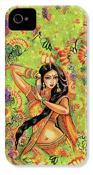 Dancing Nithya IPhone 4 Case by Eva Campbell
