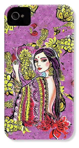 Soul Of India IPhone 4 Case by Eva Campbell