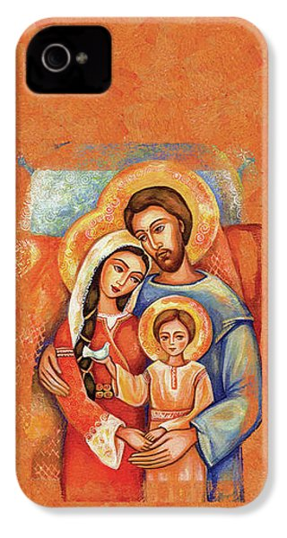 The Holy Family IPhone 4 Case by Eva Campbell