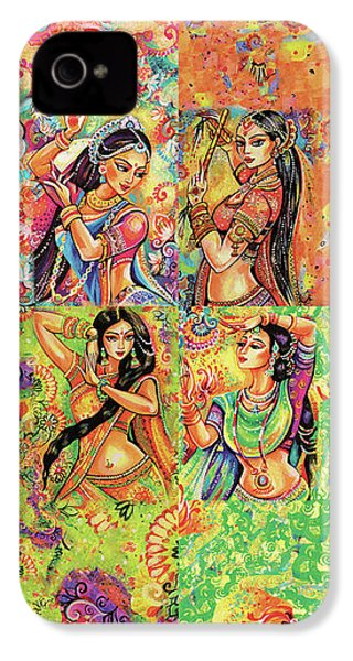 IPhone 4 Case featuring the painting Magic Of Dance by Eva Campbell