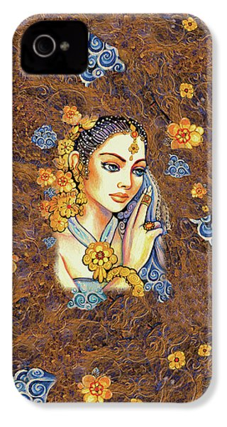 IPhone 4 Case featuring the painting Amari by Eva Campbell