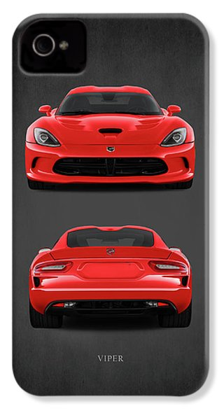 Viper IPhone 4 Case by Mark Rogan