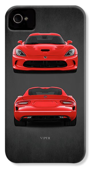 Viper IPhone 4 / 4s Case by Mark Rogan