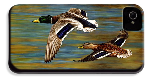 Golden Pond IPhone 4 Case by Crista Forest