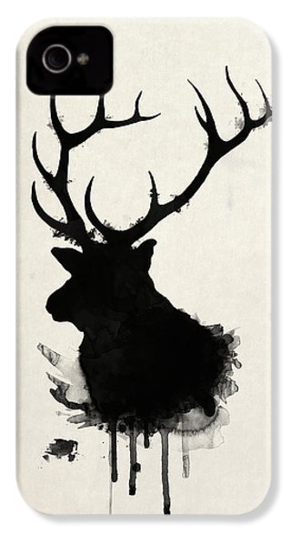 Elk IPhone 4 Case by Nicklas Gustafsson