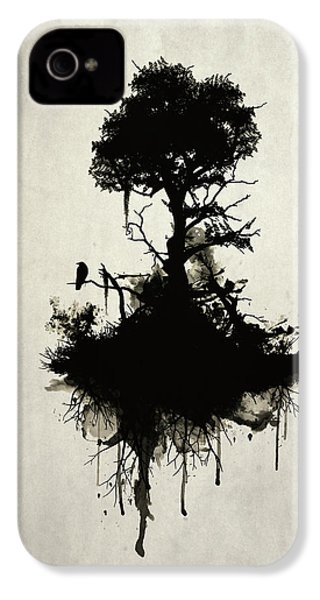 Last Tree Standing IPhone 4 Case by Nicklas Gustafsson