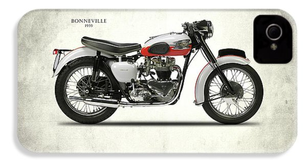 Triumph Bonneville 1959 IPhone 4 Case