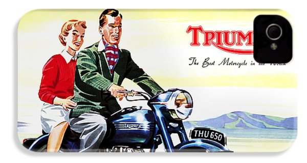 Triumph 1953 IPhone 4 Case