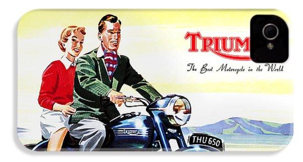 Triumph 1953 IPhone 4 Case by Mark Rogan