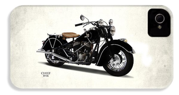 Indian Chief 1946 IPhone 4 Case by Mark Rogan