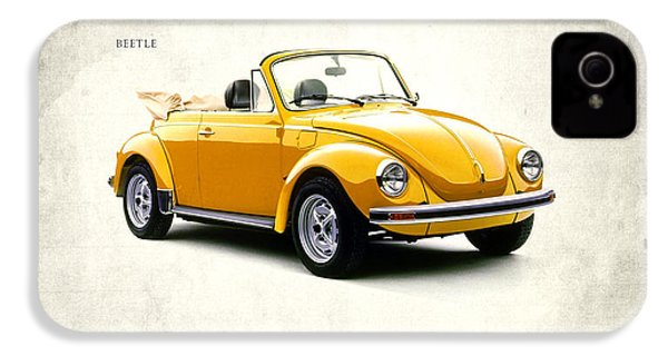 Vw Beetle 1972 IPhone 4 Case by Mark Rogan