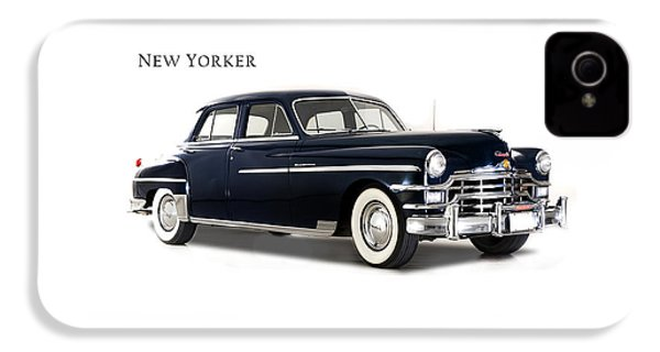 Chrysler New Yorker 1949 IPhone 4 Case by Mark Rogan