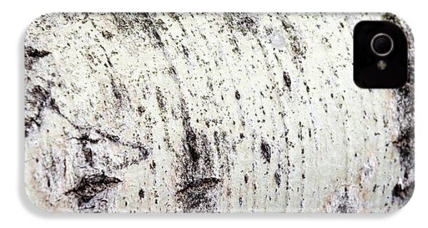 IPhone 4 Case featuring the photograph Aspen Tree Bark by Christina Rollo
