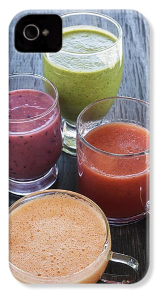 Assorted Smoothies IPhone 4 Case