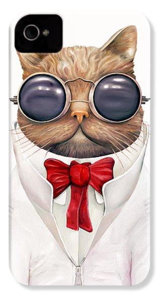 Astro Cat IPhone 4 / 4s Case by Animal Crew